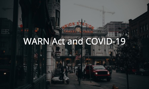 WARN Act and COVID-19
